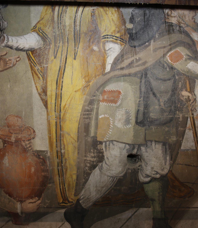 Dar de beber a quem tem sede. Francisco João (atribuído),  c. 1590-1595.